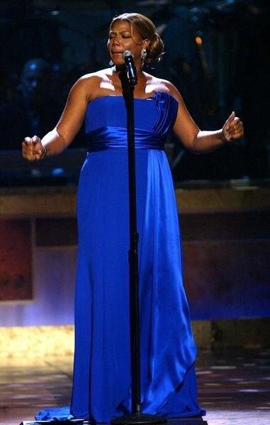 Queen Latifah performing BET