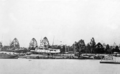 Queensland State Archives 483 Grounded ships in the City Botanic Gardens Alice Street Brisbane looking from Kangaroo Point during the 1893 flood February 1893.png