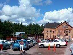 Bytorget (under Rättvik Classic Car Week 2016)
