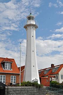 Rønne Lighthouse lighthouse in Denmark