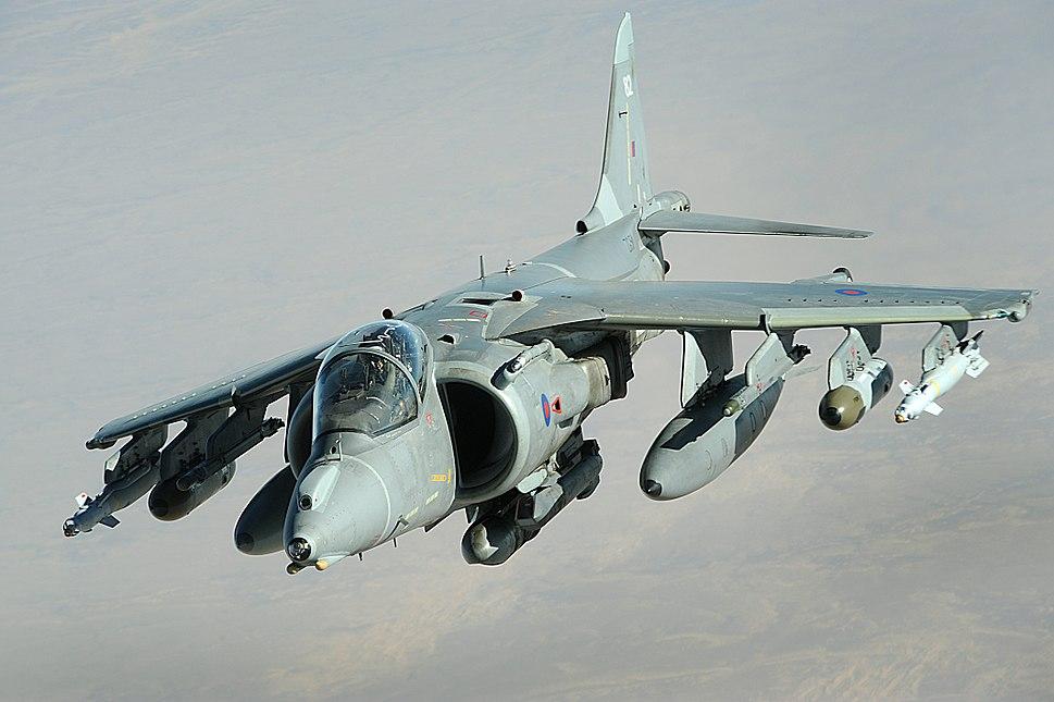 RAF Harrier GR9