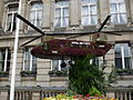 RAF twin bladed helicopter - Floral display in Victoria Square - Chinook.jpg