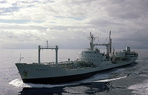 RFA Pearleaf (A77) underway in 1986.JPEG
