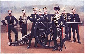 Ordnance BL 12 pounder 7 cwt - With Royal Horse Artillery crew