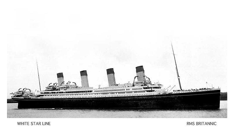 RMS BRITANNIC HMHS BRITANNIC