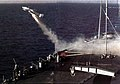 RQ-2 drone launch from USS Iowa (BB-61) c1987.jpg