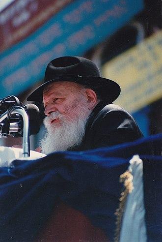 11 Nissan - Image: Rabbi Menachem Mendel Schneerson 2