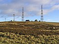 Radio masts at Mount Gilbert - geograph.org.uk - 291988.jpg
