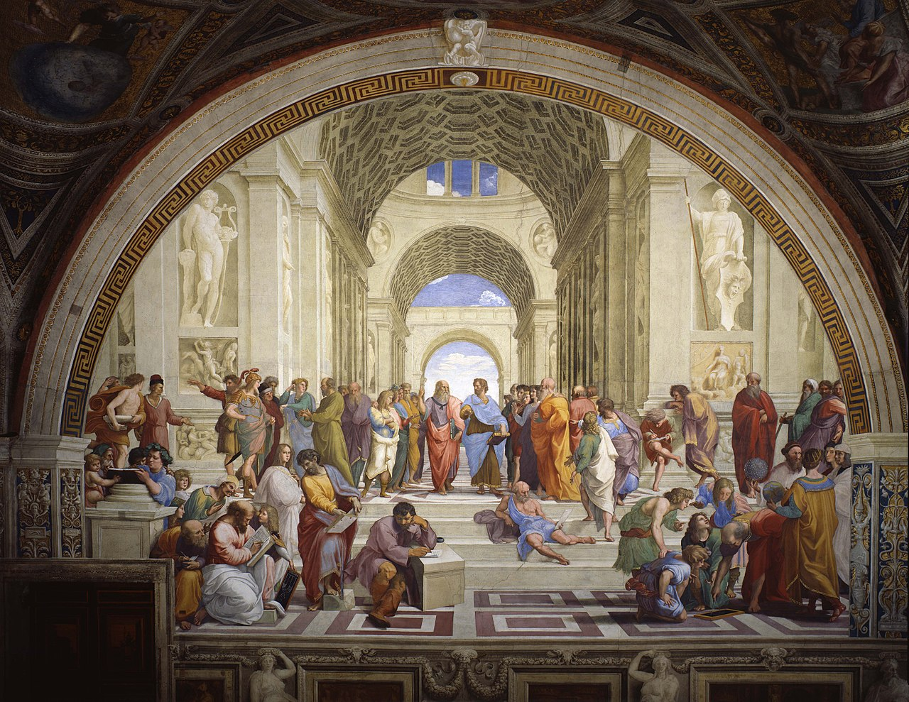 Raphael's fresco The School of Athens