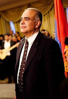 Raffi Hovannisian Armenian politician