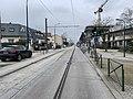 Rails Tramway IdF Ligne 6 Rue Pavé Blanc - Clamart (FR92) - 2021-01-03 - 1.jpg