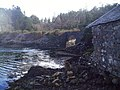 Railway arch and fishing lodge. - geograph.org.uk - 360145.jpg