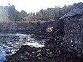 Railway arch and fishing lodge. - geograph.org.uk - 360145.jpg