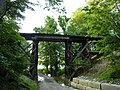Railway trestle south of Lake Lemon - P1100035.JPG
