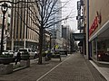 Raleigh, NC's Fayetteville Street with historic Kimbrell's furniture in the distance.jpg