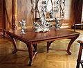 Raoul larche, centrotavola 'il mare', parigi 1894 ca, su tavolo di alexandre charpentier per la sala da pranzo della villa del banchiere adrien bénard a champrosay, 1901.JPG