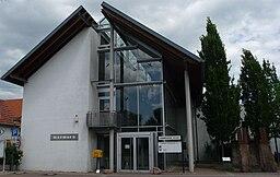 town hall of Heßheim, Germany
