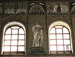 Ravenna, sant'apollinare nuovo, int., santi e profeti, epoca di teodorico 22.JPG