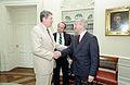 Reagan's meeting with Oleg Gordievsky in the Oval Office (04).jpg