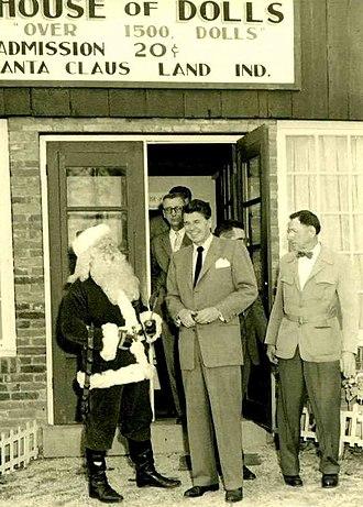 Holiday World & Splashin' Safari - Future President Ronald Reagan visited in 1955