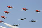 Red Arrows - RIAT 2005 (2949268801).jpg