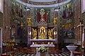 Reith bei Seefeld - Pfarrkirche hl Nikolaus - Altar und Mosaikwand.jpg