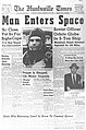 Released to Public Yuri Gagarin Headline, 1961 (NASA) (463614642).jpg