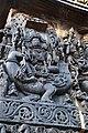 Relief Sculpture of Karthikeya Hoysaleswara Temple Halebid.jpg