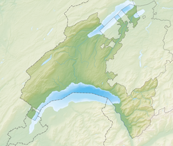 Orzens is located in Canton of Vaud