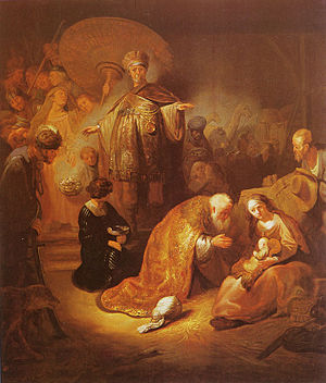 The Adoration of the Magi (copy?)