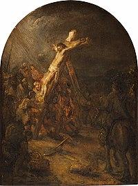 Rembrandt - Raising of the Cross - 95.1946.jpg