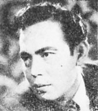 Raden Soekarno, male lead of Soeara Berbisa