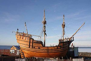 Ferdinand Magellan - The Nao Victoria Replica in the Nao Victoria Museum, Punta Arenas, Chile
