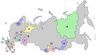type of equal subjects of the Russian Federation