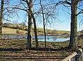 Reservoir at Gore Farm - geograph.org.uk - 683878.jpg