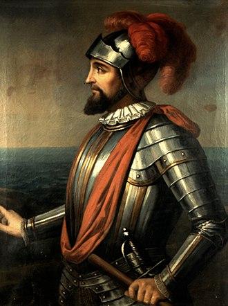 Vasco Núñez de Balboa - Image: Retrato de Vasco Nuñez de Balboa (1475 1517) Anónimo