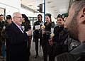 Reuven Rivlin distributed Mishloach Manot to the Military Police of Israel and the Border Police of Israel for Purim holiday (4846).jpg