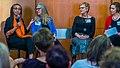 Rev Dr Gloria White-Hammond, Rabbi Liza Stern, author Anita Diamant, Judith Rosenbaum.jpg