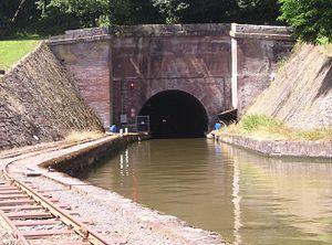 Marne–Rhine Canal - Tunnel near Arzviller