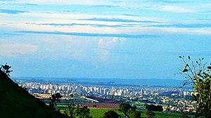 Ribeirão Preto - Panoramic view of Ribeirão Preto