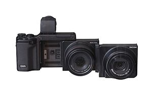 Mirrorless interchangeable-lens camera - Image: Ricoh GXR IMG 5351