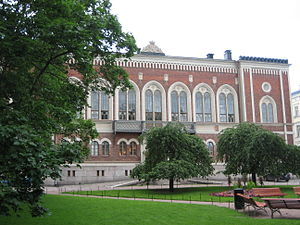 Georg Theodor Chiewitz - Image: Riddarhuset in Helsinki