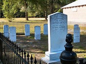Rivers Bridge State Historic Site - Image: Rivers Bridge Confederate Cemetery