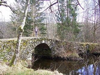 Pérols-sur-Vézère - The Varieras bridge