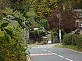 Road passing the end of Main Street, on the south side of Hawkshead - geograph.org.uk - 1006323.jpg