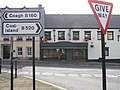 Road signs, Stewartstown - geograph.org.uk - 1412964.jpg