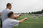 Rob Gronkowski football camp a 'touchdown' with youth at JBA 150702-F-CX842-267.jpg