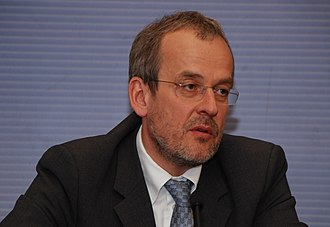 2014 European Parliament election in Latvia - Image: Roberts Zīle, 2010 03 31