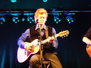 Rodney Crowell - Crowell onstage at Whelan's, Dublin, January 2009