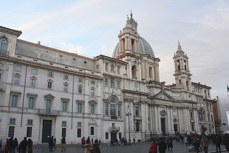 File:Rom, die Kirche Sant'Agnese in Agone.JPG